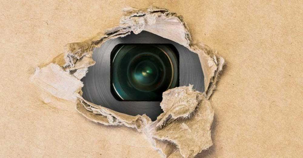 hidden camera photo